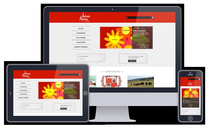Commu'net permet aux petites communes de bénéficier d'un site internet moderne