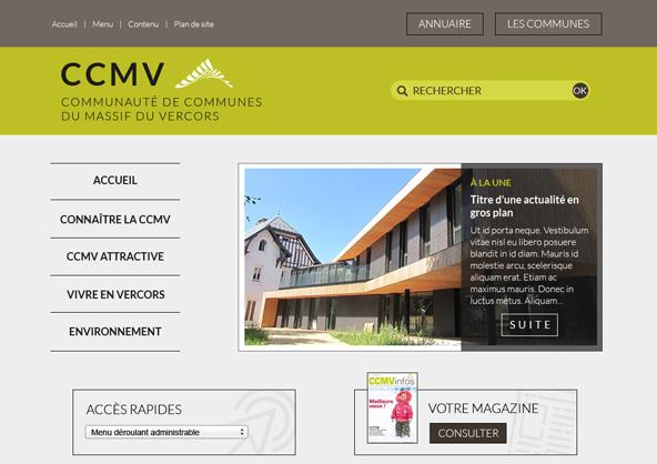 Nouvelle stratégie digitale de la CCMV