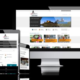 Création du site de la CA Arlysère