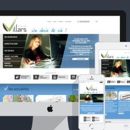 Ville de Villars : site institutionnel et démarches en ligne