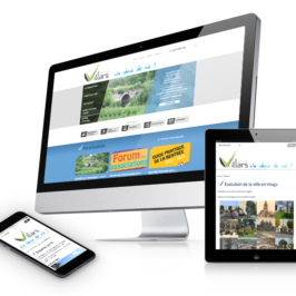 Refonte du site internet deVillars(Loire)