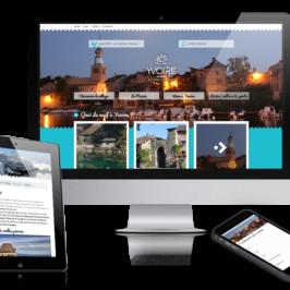 La jolie cité d'Yvoire (Haute-Savoie) aenfin son site internet